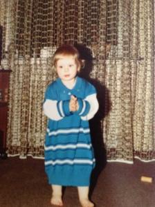 Modisch machte mir niemand einen Pullover für ein Kleid...