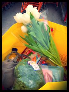Eine gute Entscheidung, immer: Mir Blumen kaufen.