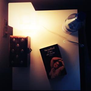 Hohe Literatur. Ein geheimnisvolles Kästchen. Eine Lampe. Ja, so hat auch sicherlich der Nachttisch vom American Psycho ausgesehen.